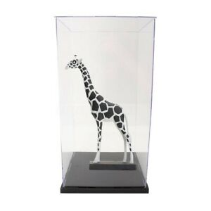 41cm-Acrylic-Display-Box-Clear-Perspex-Plastic-Dustproof-Base-Protection-Case-1