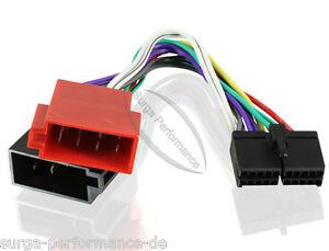 Auto-Radio-Adapter-Kabel-fuer-Clatronic-AEG-DIN-ISO-Kabelbaum-KFZ-Stecker