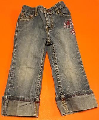 Levi's Strauss Pre-cuffed Quality Stretch Jeans - Size 24m Girls Buy One Get One Free