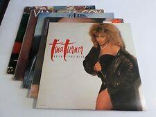 Lot Of 5 Soul Funk Disco LP Wholesale Tina Turner Al Jarreau Vinyl Record