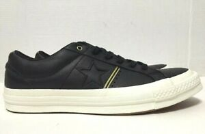 Converse One Star Ox Shoes Black White