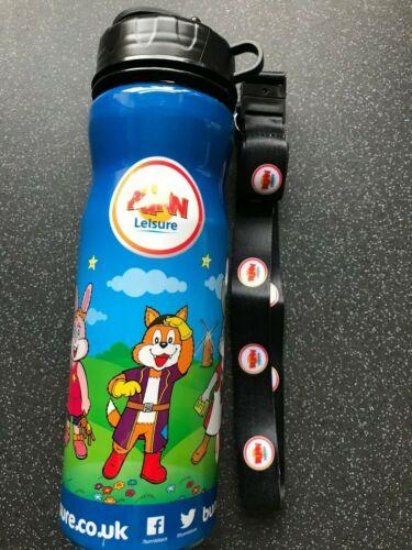 New Bunn Leisure Water Bottle With Lanyard