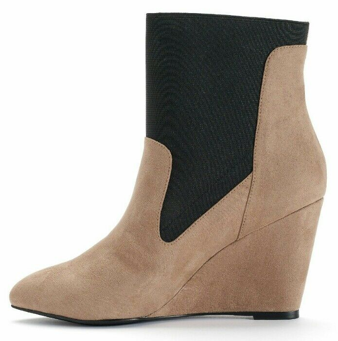 Style Charles Stiefel by Charles David Elsa Damenschuhe Wedge Ankle Stiefel Charles Schuhes NWB 129 cc6e1b