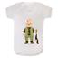 Baby Hunter Babygrow Baby Grow Personalised Babysuit vest Funny Gift Newborn