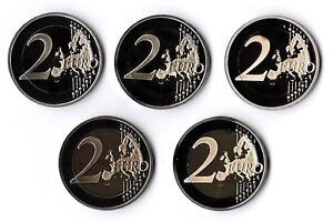 Germany 2010 Adfgj Proof IN Coin Capsules