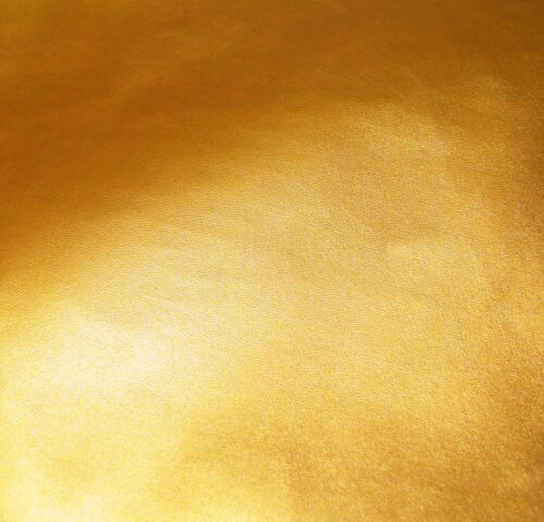 Pe253n Gold Soft Sheep Faux Leather Round Shape Cushion//Pillow Cover Custom Size
