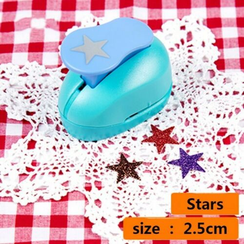 DIY Mini Paper Punch Scrapbooking Card Embossing Tool Hand Die Cutter Puncher