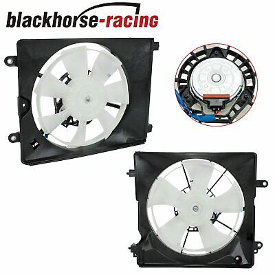 AC A//C Condenser Radiator Cooling Fan Assembly for 96-98 Honda Civic