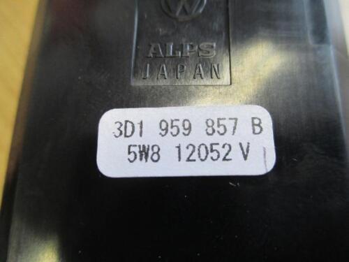 Fensterheber VW Phaeton Tankdeckel Heckklappe 3D1959857B Schalter el