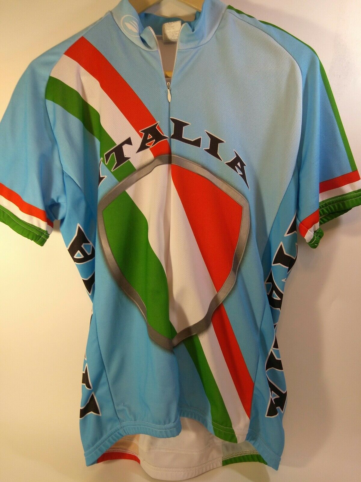 EUC Performance Italia Cycling Jersey Size Medium - Rare Design, Road Cycling