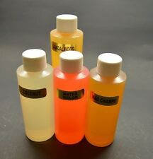 Lot of Four 4oz Fragrance Oil Candle/Soap Making Supplies-Tart/Oil Warmer