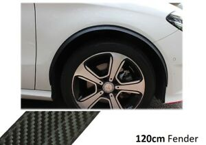 2x-Wheel-Thread-Carbon-OPT-Side-Sills-120cm-For-Mitsubishi-Mirage-III-Hatchback