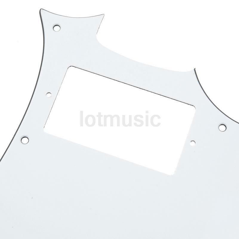 electric guitar pickguard for ibanez grx20z parts replacement white 3 ply