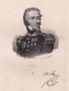 Maximilien-Sebastien-Foy-General-Empire-Batailles-Vimeiro-d-039-Orthez-Waterloo