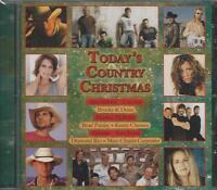 Music Cd Today's Country Christmas Chesney Jackson Alabama Paisley Lonestar