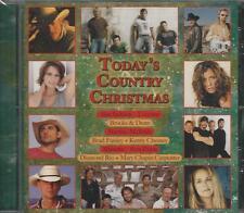Music CD Today's Country Christmas New Chesney Jackson Alabama Paisley Lonestar