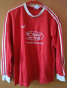 Trikot Adidas Langarm Yugoslavia 80er 80s Vintage Gr. 7/8 Birkenmaier Nr. 11 Rot