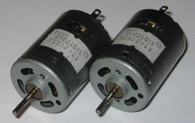 Mabuchi Type Motor RS-555SH 12V DC Motor 57mm x 36mm 9-15V