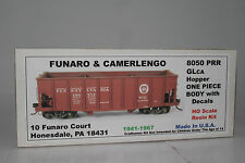FUNARO AND CAMERLENGO No. 8050 PENNSYLVANIA GLCA ONE PIECE HOPPER CAR WITH DECAL