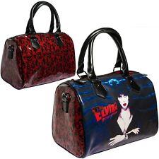 NUOVO KREEPSVILLE 666 Elvira Glitter Rosso Borsetta Borsa Gotico Punk Emo Fashions