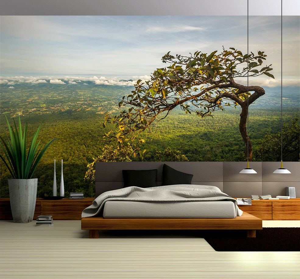 3D Prairie Baum Himmel 8968 8968 8968 Tapete Wandgemälde Tapeten Bild Familie DE Lemon   Deutschland Outlet  920adf
