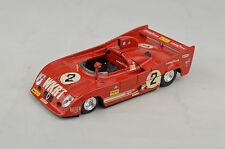 "Solido #41 Alfa Rameo 33 TT 12 Race Car 3 3/4"" Long 1:43 1976  France Near Mint"