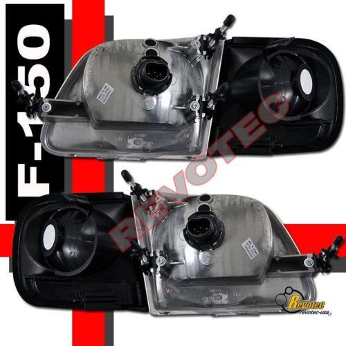 01 02 03 Ford F-150 F150 SVT Supercrew Harley Davidson Headlights /& Tail Lights