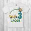 Minion-Compleanno-T-shirt-ragazzo-bambino-neonato-Maglietta-Personalizzata miniatura 1