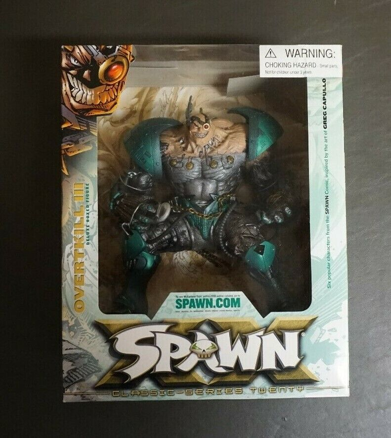 OVERKILL III 3 Boxed Set Series 20 MCFARLANE TOYS SPAWN 2001 Comme neuf on Card GV