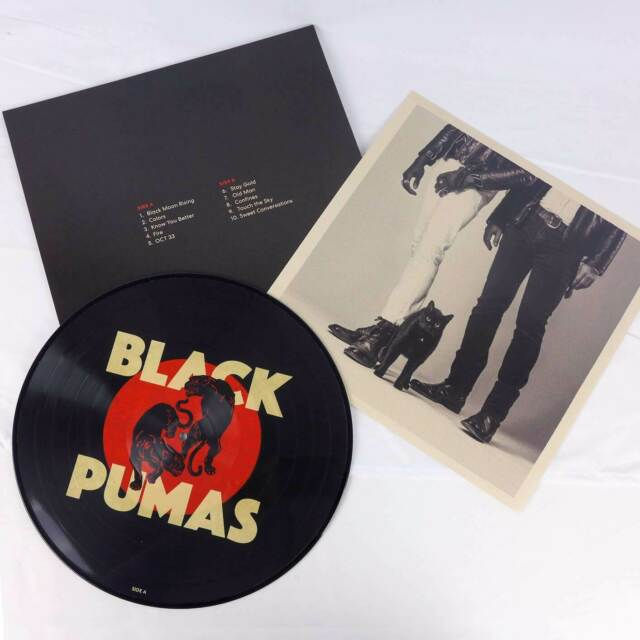 Black Pumas SELF TITLED Limited Edition ATO RECORDS New Vinyl Picture Disc LP