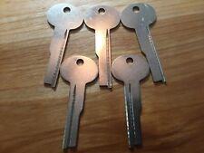 Lb3ns Ilco Lefebure Safe Deposit Box Lock Key Blanks Lot Of Five5