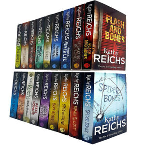 Kathy-Reichs-Temperance-Brennan-Series-1-2-amp-3-Collection-18-Books-Set-Pack-NEW