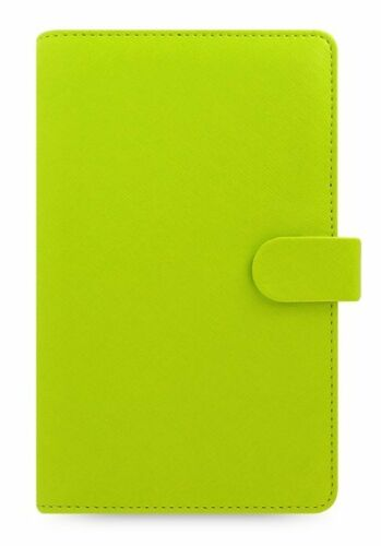 Filofax Compact Organizer Saffiano Pear Grün A6 Terminplaner Zeitplaner 022529