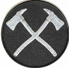 CROSS AXES FIREFIGHTER NEW HIGH QUALITY MC  Club Motorcycle Biker Patch PAT-3263