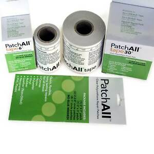 Patchall Waterproof Clear Repair Tape Vinyl Leather Canvas