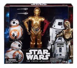 Star-Wars-Force-Awakens-C-3PO-BB-8-RO-4LO-Hasbro-Disney-Collectors-Droid-3-Pack