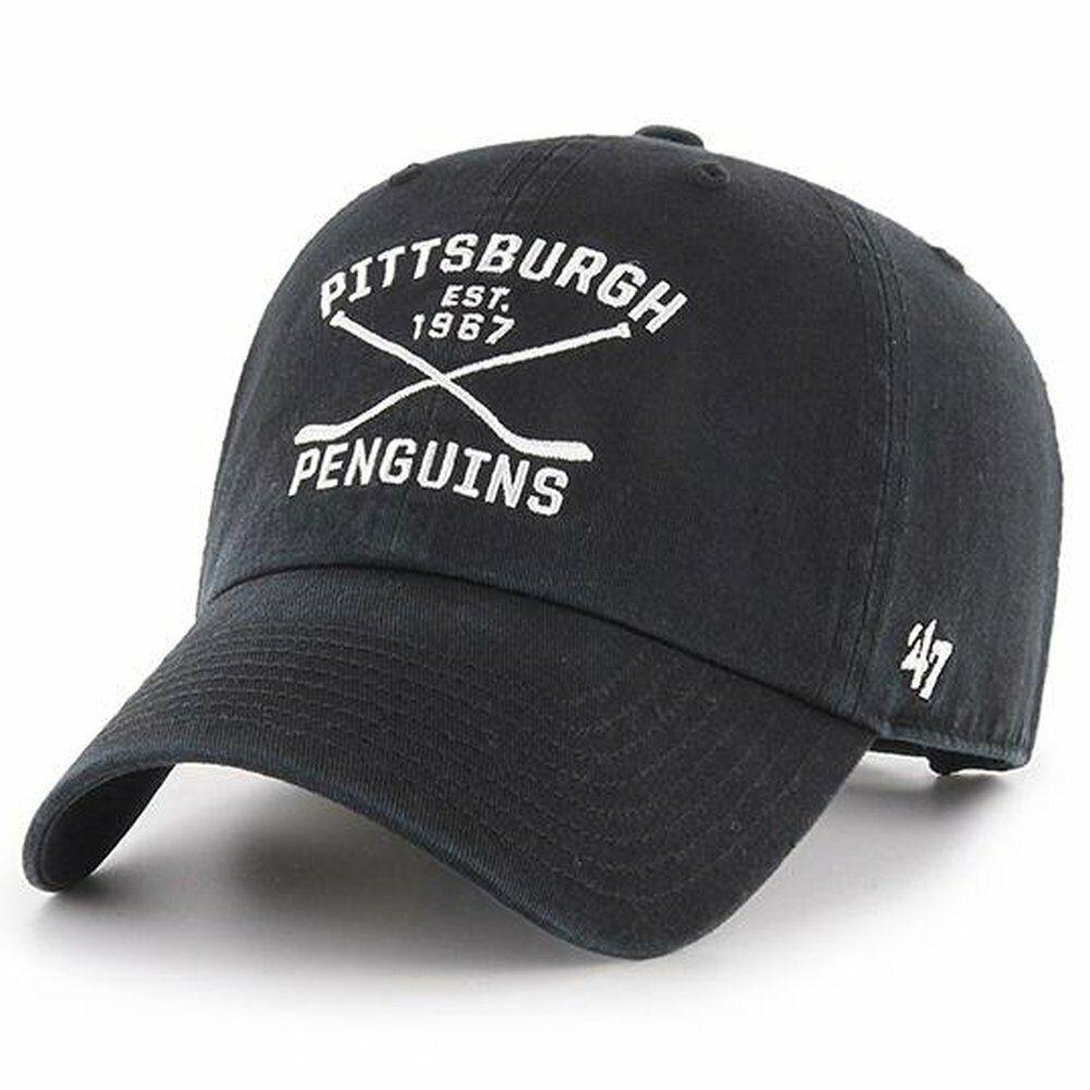 47 Brand Adjustable Cap - AXIS Pittsburgh Penguins schwarz