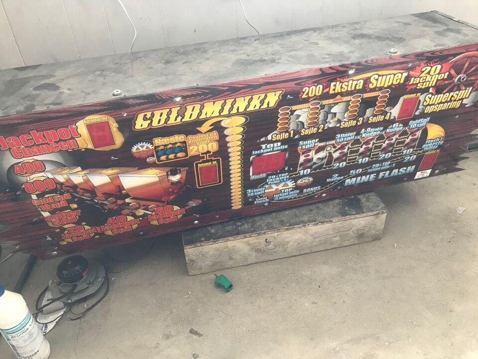 Guldminen, spilleautomat, God