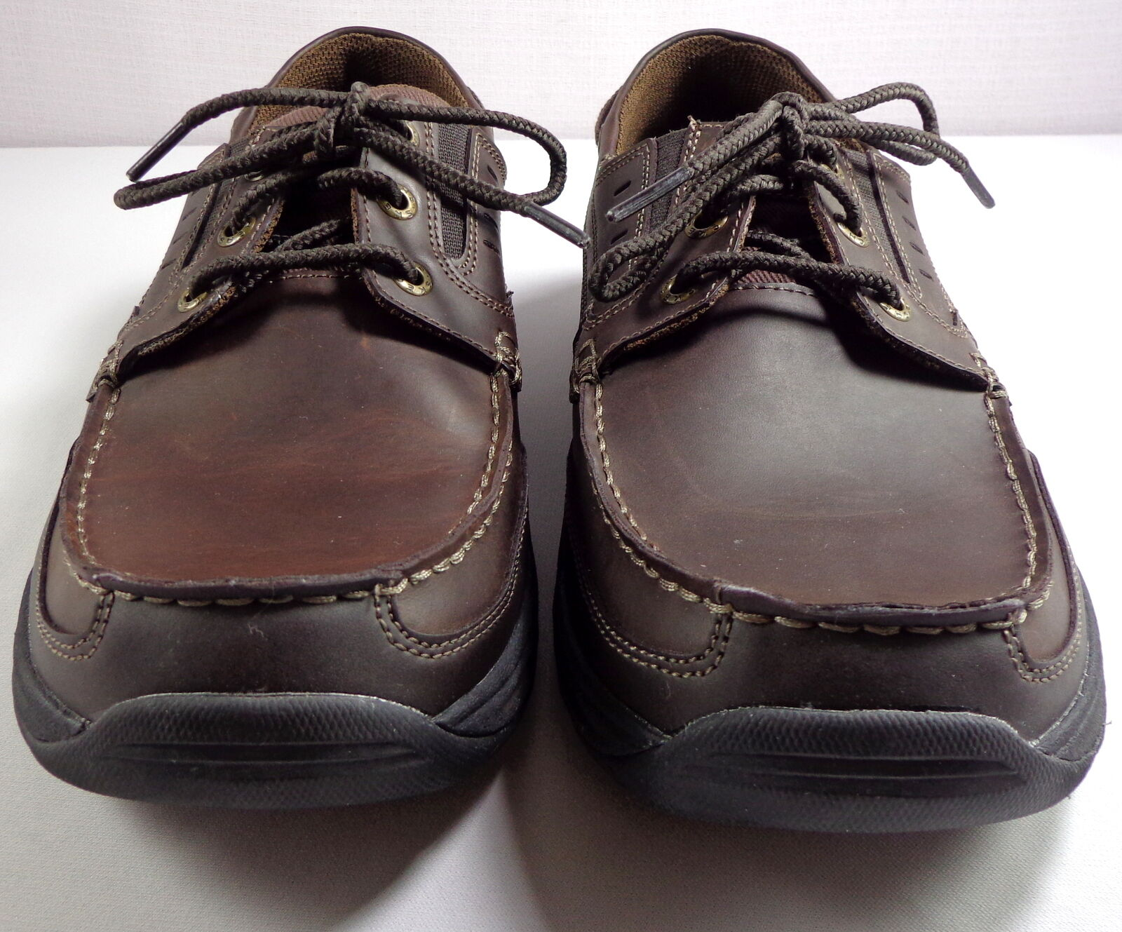 Skechers Mens shoes Relaxed Fit Memory Foam Brown Size 10