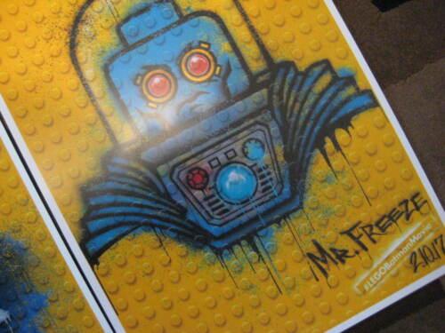 "11/"" x 17/"" Set of 4 Movie Collector/'s Poster Prints Lego Batman"