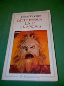 Dictionnaire-Latin-Francais-Henri-Goelzer