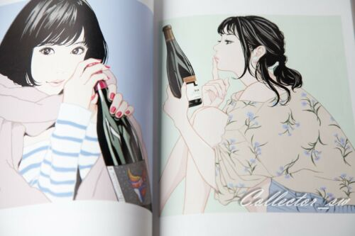 3-7 DaysSTEP Hisashi Eguchi Illustration Book from JP