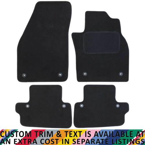 Volvo C70 Automatic MK II 2006-2013 Fully Tailored 4 Piece Car Mat Set 8 Clips
