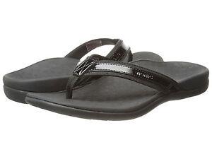 8ed56cdfc543 Women Vionic Orthaheel Tide II Flip Flop Sandal 44TIDEII Black 100 ...