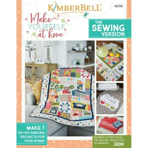 Sewing Version KD721 Kimberbell Designs Make Yourself at Home Book