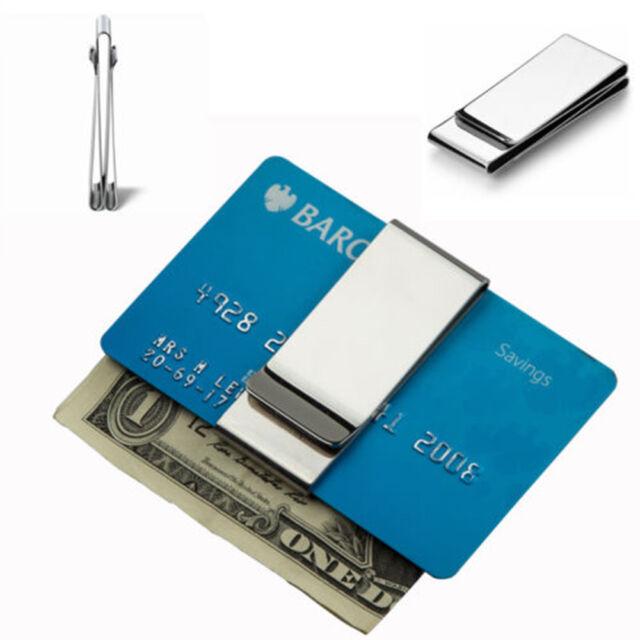 Clip Wallet Dollar Man's Clip Bill Metal Clamp Credit Cards Clips Holder Money