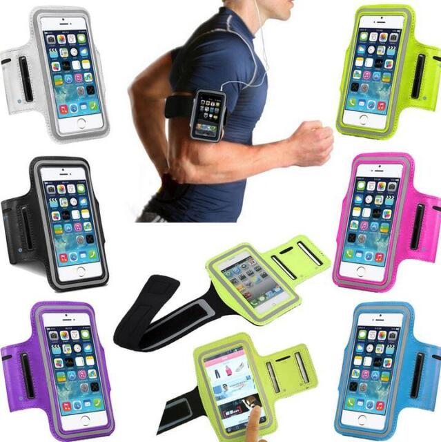 Sports Running Gym Fitness Armband Waterproof Arm Case Cover For HTC SmartPhone