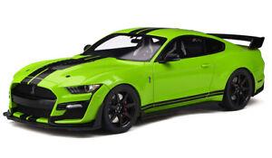 2020-Ford-Shelby-GT500-en-Grabber-Cal-sin-usar-en-caja-de-edicion-limitada-1-18-Pre-orden-GT-Spirit