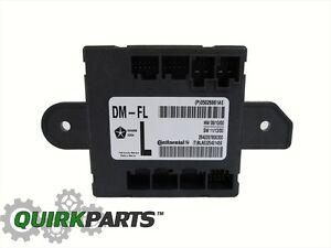 Chrysler T/&C Dodge Caravan Left Door Control Control Module Mopar OEM