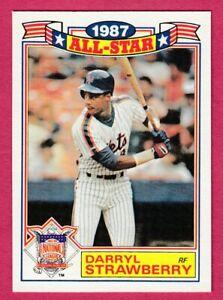1988 Topps ALL-STAR #19 Darryl Strawberry -- New York Mets